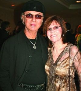 Dion and wife; Photo by Janet Donovan