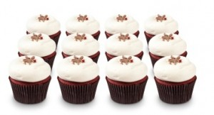 Rudolph Red Velvet leads the season pack at Georgetown Cupcake.