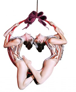 Acrobats perform amazing feats at the Kennedy Center