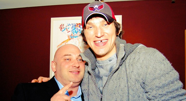 Alex Ovechkin celebrates One Lounge anniversary. Images courtesy of Karllito Antonio and David Phillipich.
