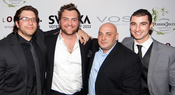 One Lounge Owners Niko Papademetriou, Seth McClelland, Filipp Zeldin and Daniel Kramer. Image courtesy of