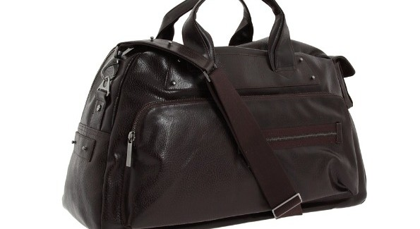 One of David's essentials-- the Bauhaus Bag.