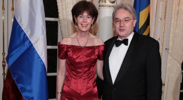 Netherlands Amb. Renee Jones-Bos and Richard Jones-Bos