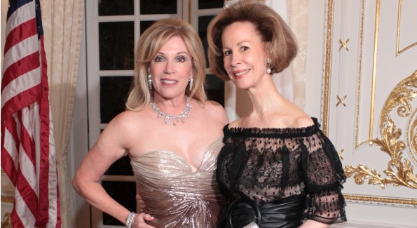 Ball Chairman Michele Kessler with Bonnie McElveen-Hunter, chairman, the American National Red Cross