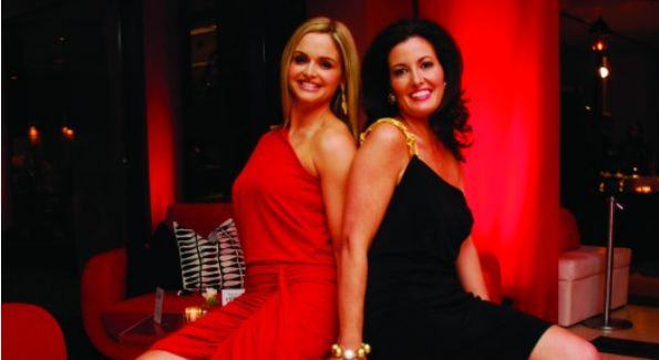 Sharon Bradley and Diane Brown at Washington National Opera's 2010 Midwinter Fête. (Photo by Kyle Samperton)