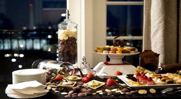 Desserts from the Grand Opening of The Hay-Adams' Top of the Hay.