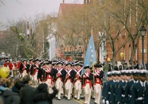 Celebrate the country's largest President's Day parade, dating back to 1923, in Old Town Alexandria
