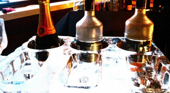 Ice Bar (Photograph by Grace Romanowsky)