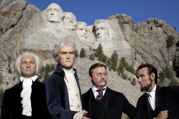 Take a look at all of our presidents in wax version!