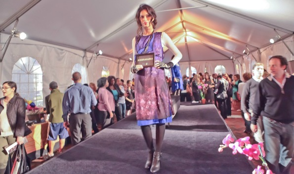 Runway show at Passport to Style. Photo by Alfredo Flores.