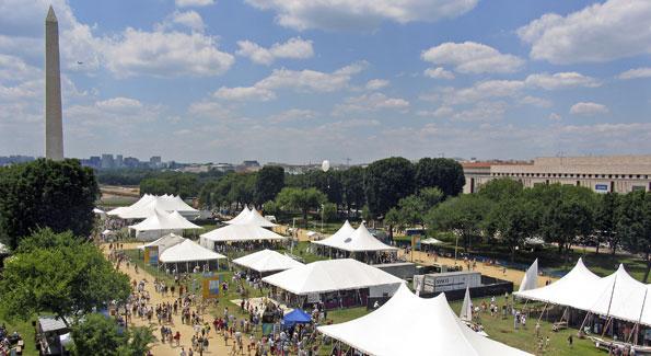 Smithsonian Folklife Festival (Photo by Jeff xxxx)