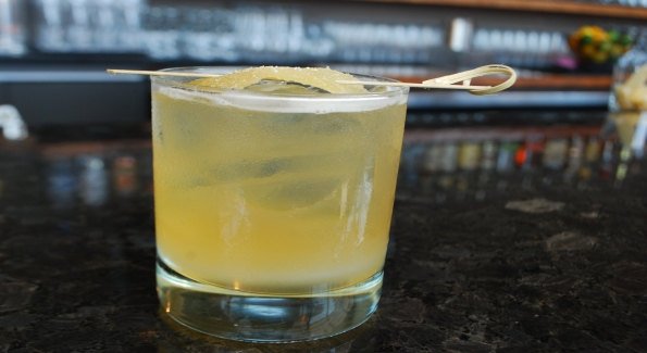 The Bardstown Shandy at Jack Rose Dining Saloon gets a kick from Bourbon. Photo courtesy of Jack Rose Dining Saloon.
