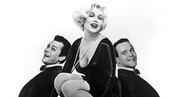 """Billy Wilder's classic comedy """"Some Like It Hot"""" at Heurich House (Courtesy photo)"""