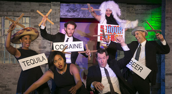 """Second City's """"America All Better!"""" has been extended at Woolly Mammoth. (Photo xxxxxxxxxxx)"""