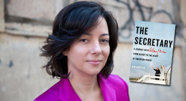 """Author Kim Ghattas of """"The Secretary."""" (Courtesy xxxxxxxxxxx)"""