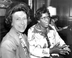 Congresswoman Lindy Boggs and Congresswoman Barbara Jordan worked diligently in Congress to pursue the interests of women and minorities. (Photo courtesy National Archives)