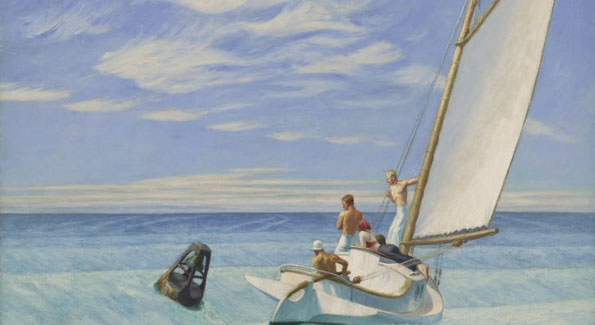 Hopper Groundswell (Photo courtesy Corcoran Gallery of Art)