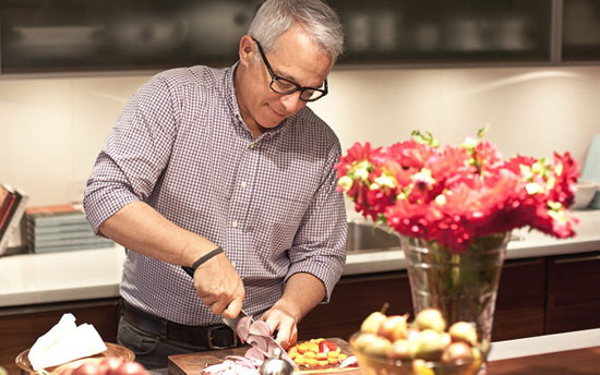 Chef Zakarian in action (Photo courtesy Key Group)