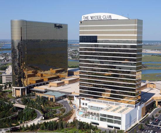 The Borgata Hotel Casino & Spa and The Water Club (Courtesy photo)