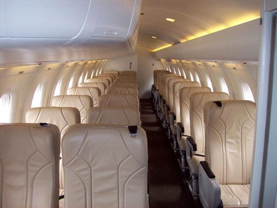 Inside 30 leather seats (Courtesy photo)