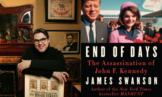 """Author James Swanson and his new book 'End of Days: The Assassination of John F. Kennedy."""""""