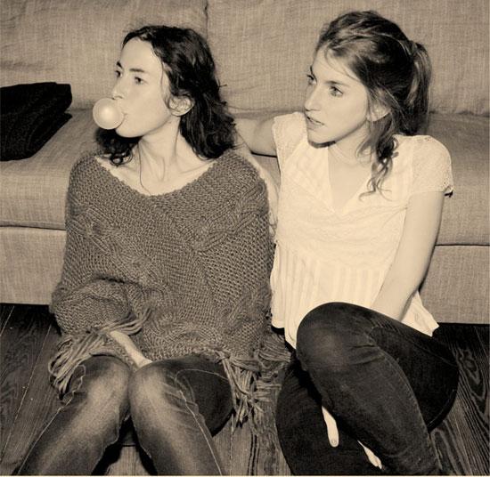 Sonja Glass and Valeska Steiner of BOY. (Courtesy photo)