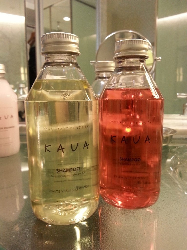 Kaua Spa offers white and red white shampoo as part of its line of beauty products. Photo courtesy Kelly Magyarics.