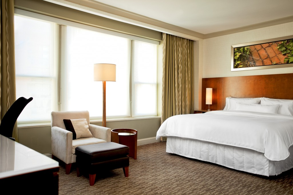 The Deluxe King is one of the room categories at the Westin Georgetown. Courtesy photo.