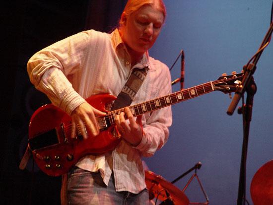 Derek Trucks masters another solo (Photo courtesy Derek Trucks)