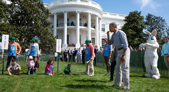 The 136th White House Easter Egg Roll (Photo by Pete Souza)
