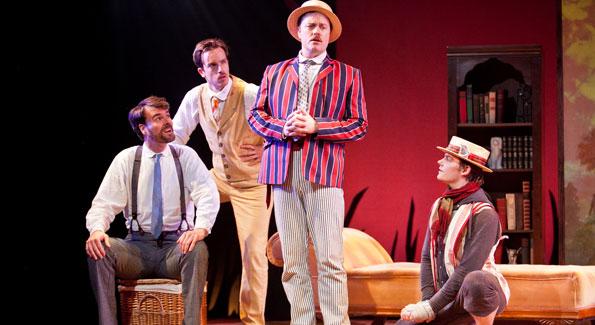 Tim Getman, Rob Jansen, Tom Story and Alex Mills. (Photo by Koko Lanham)