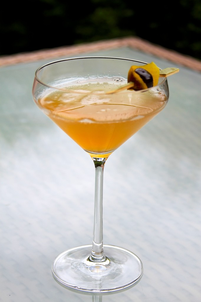 The Imperfect Martini is one of The Rye Bar's new cocktails. Photo courtesy of The Rye Bar.