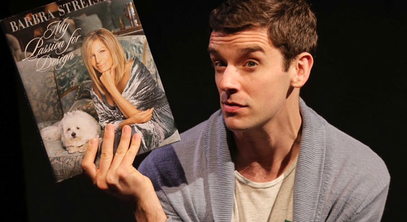 Michael Urie in 'Buyer & Cellar' (Photo by Joan Marcus)