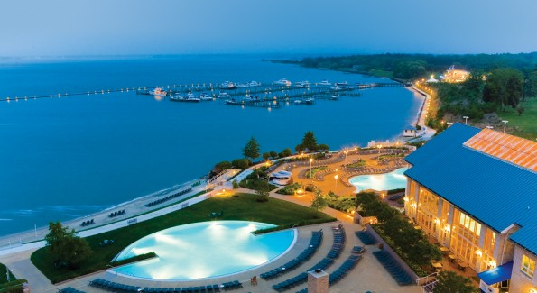 The Hyatt Regency Chesapeake is hosting an upcoming crab week, and featuring a new all-inclusive package. Photo courtesy of the Hyatt Chesapeake.
