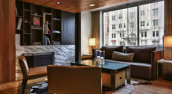 Avenue Suites adjacent to Georgetown is a perfect spot for a late summer staycation. Photo courtesy Avenue Suites.