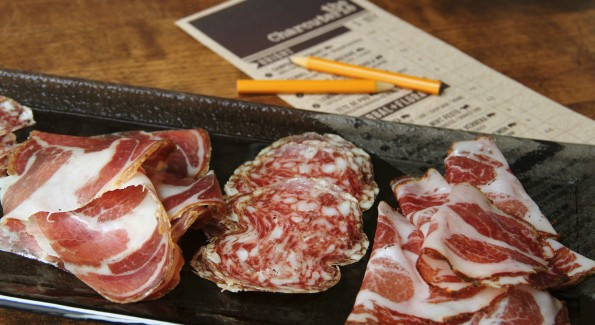 Charcuterie and Lambrusco. 'Nuff said. Photo credit Stephanie Breijo.