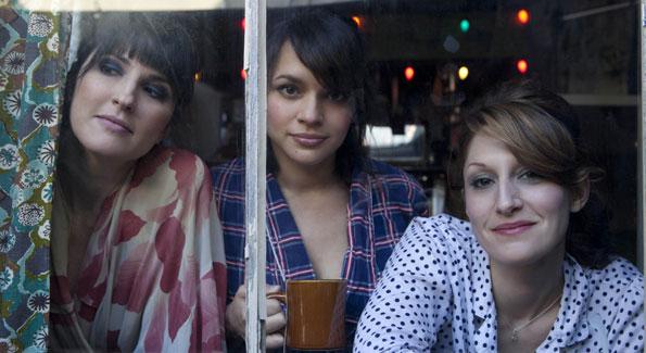 Puss n Boots (L-R): Catherine Popper, Norah Jones and Sasha Dobson. (Photo courtesy Richard Ballard)