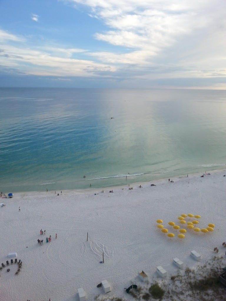 Two sandbars are responsible for the blue and green water around Destin. Photo courtesy Kelly Magyarics.