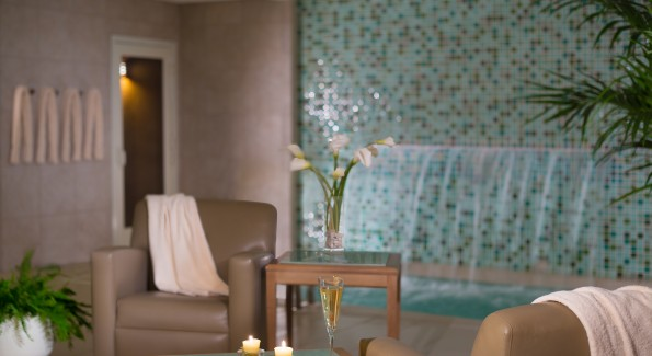 Enjoy the spa's amenities before or after your treatment. Photo courtesy Hilton Sandestin.