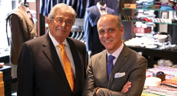 Ike Behar and Lawrence Behar at their Georgetown store (Photo by Cecilie Olaussen)