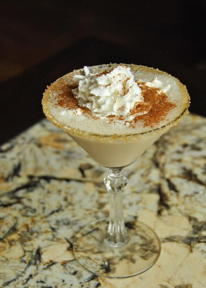 The Pumpkin Martini is spicy and creamy. Photo courtesy of Mia DeSiomone/TAA PR.