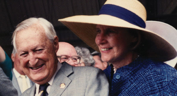 Paul and Bunny Mellon (Undated photo courtesy of the Estate of Mrs. Paul Mellon)