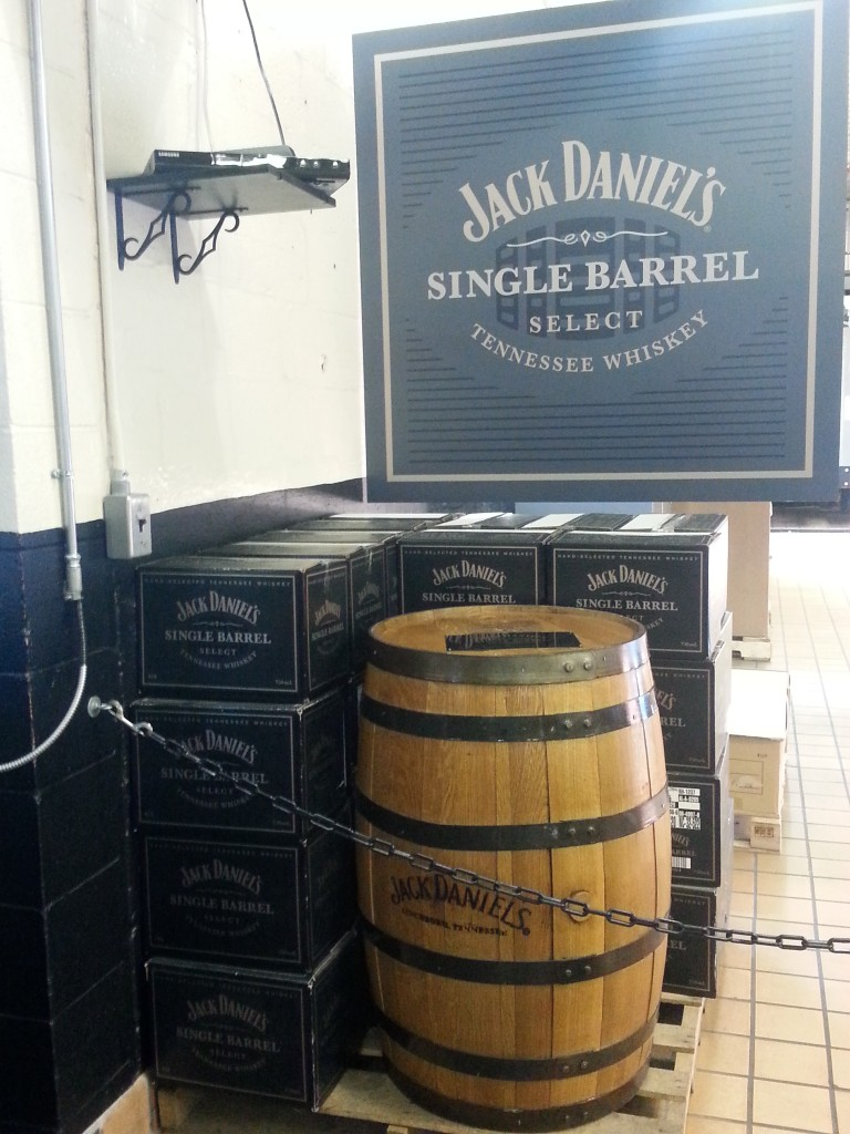 For a mere $10,000, a full barrel of JD Single Barrel can be yours...and it's actually a good deal. Photo courtesy of Kelly Magyarics.