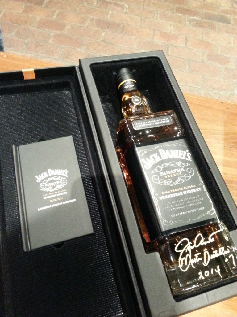Sinatra Select is named for Old Blue Eyes, who loved Jack Daniel's. Photo courtesy of Kelly Magyarics.