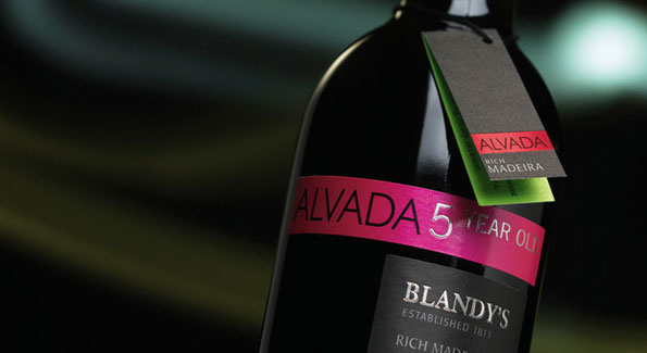 Blandy's Alvada Madeira is a perfect way to end an autumn meal. (Photo courtesy of Blandy's)