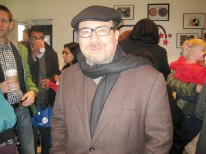 Craig Newmark, founder of Craigslist, was there on his birthday.