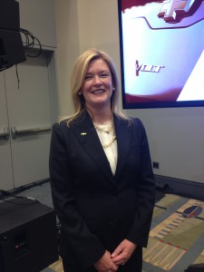 Chevy Volt executive chief engineer Pam Fletcher (Photo by Erica Moody)