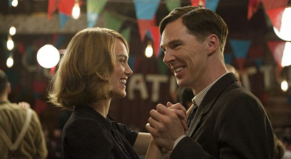 Benedict Cumberbatch and Kiera Knightley in The Imitation Game, which tells the story of Alan Turing (Photo Courtesy The Weinstein Company)