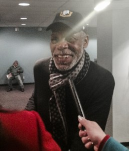 Actor Danny Glover (Photo courtesy Embassy of the Republic of Venezuela in D.C.)