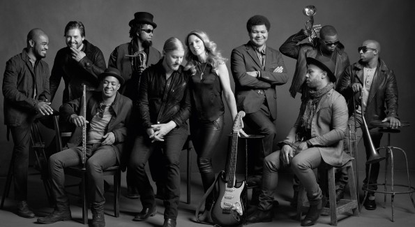 The Tedeschi Trucks Band prepares to hit the road for yet another tour. (courtesy Mark Seliger)